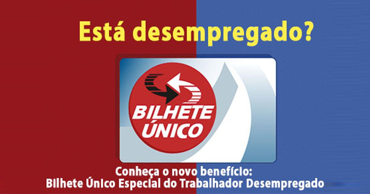 São Paulo's unemployed can already request a free single ticket