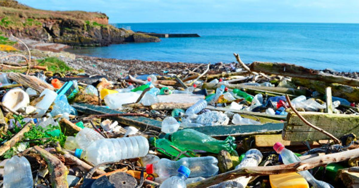 Stop using plastic for bottles and packaging