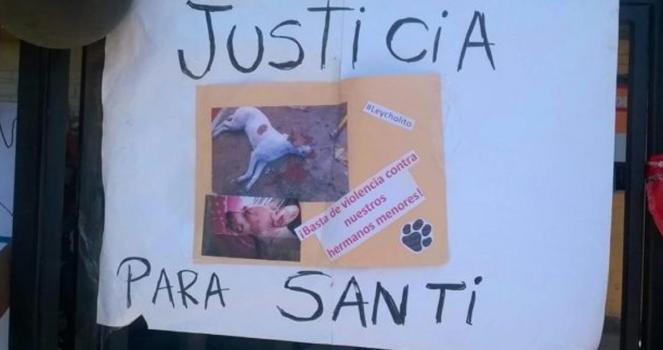 This dog was beaten until it end up in a vegetative state, and suffered two days until it died, I WANT JUSTICE!